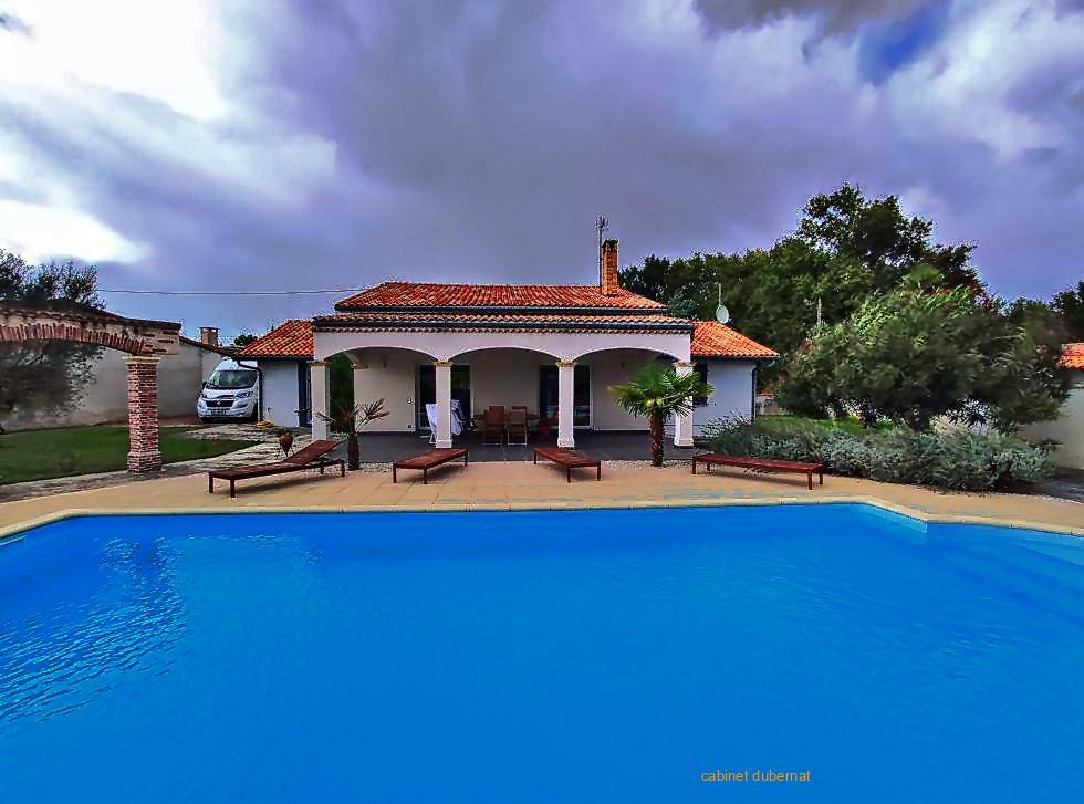 LUDON MEDOC maison 4 ch - logement annexe et piscine